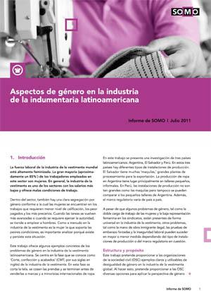 Aspectos de género en la industria de la indumentaria latinoamericana