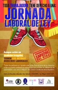"""Campaña de Derechos Laborales """"Póngase en los Zapatos del otro"""""""