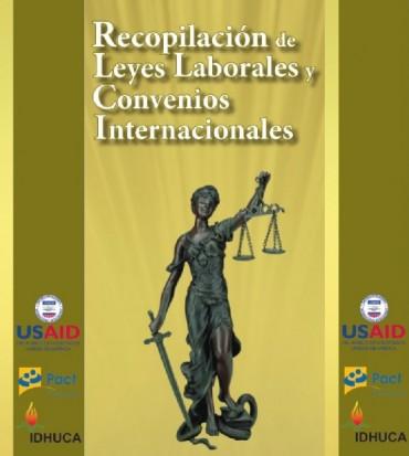 Recopilación de leyes laborales y convenios internacionales.