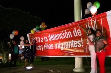 Lanzamiento de campaña Alto a las Detenciones de Niños y Niñas migrantes en El Salvador