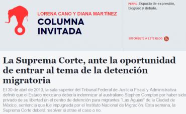 La Suprema Corte Mexicana, ante la oportunidad de entrar al tema de la detención migratoria