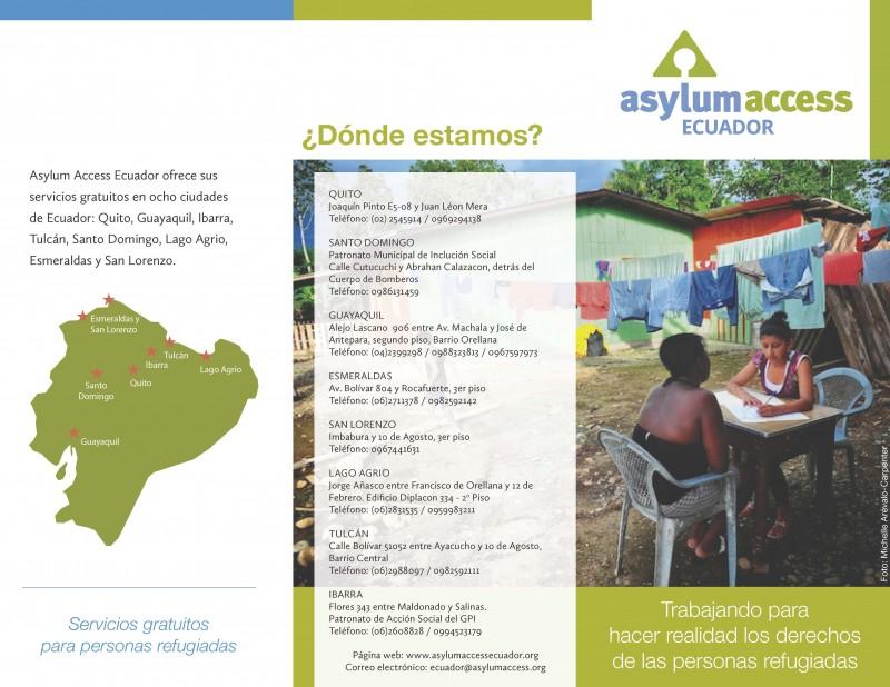 Asylum access ECUADOR – dossier