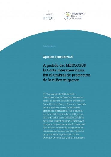 Opinión consultiva 21 – A pedido del MERCOSUR la Corte Interamericana fija el umbral de protección de la niñez migrante
