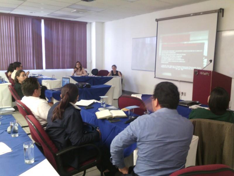 """Taller: """"Buenas prácticas para la defensa de los derechos humanos de las personas migrantes y personas sujetas de protección internacional en Mesoamérica"""""""