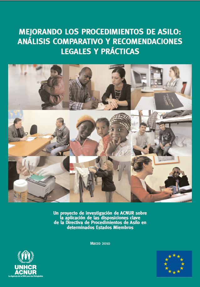 Mejorando los Procedimientos de Asilo: Análisis comparativo y recomendaciones legales y prácticas