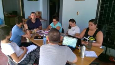 """Encuentro e intercambio de experiencias con el Centro de Derechos Humanos """"Fray Matías de Córdova"""""""