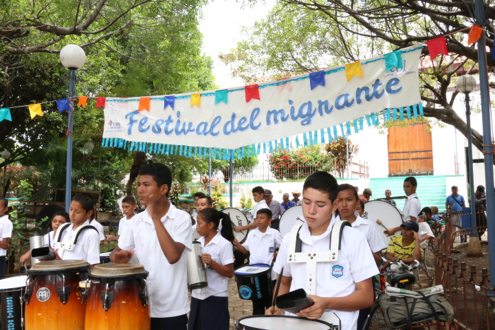Festivales del migrante en El Salvador