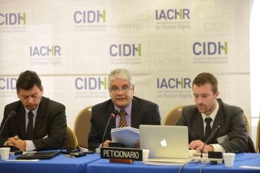 Audiencia temática CIDH sobre situación de desplazamiento forzado en El Salvador