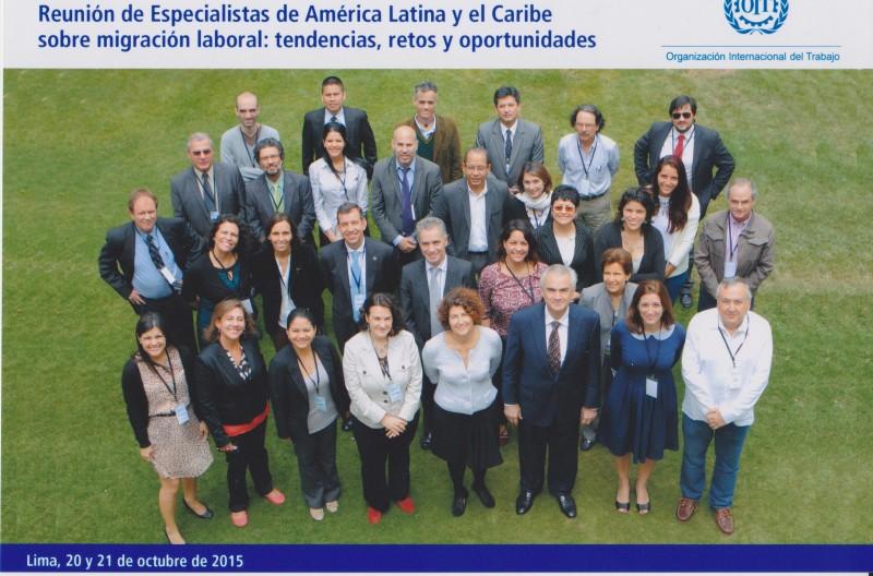 Reunión de especialistas de América Latina y el Caribe sobre migración laboral: tendencias, retos y oportunidades