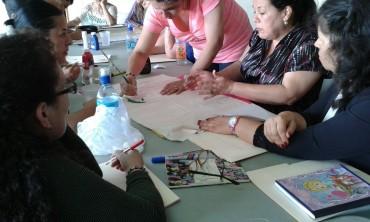 Talleres de sensibilización a docentes en la zona de los Santos, Costa Rica en el tema de derechos humanos y migración.