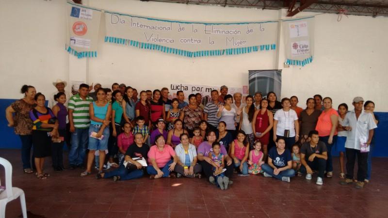 Conmemoración del día internacional para la eliminación de la violencia hacia la mujer