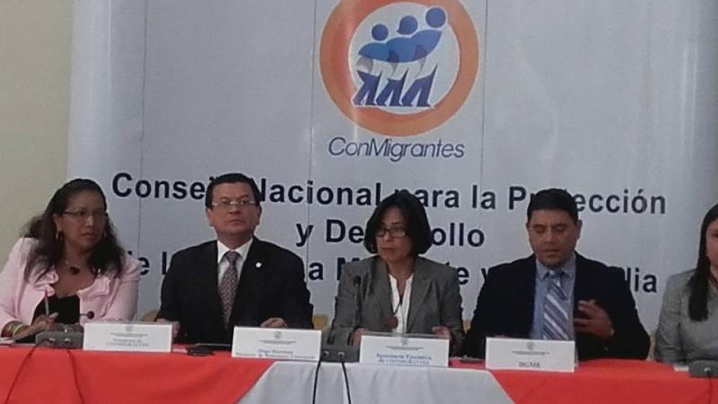 Juramentación de GMIES como parte del Consejo Nacional para la Protección y Desarrollo Integral de la Persona Migrante y su Familia. CONMIGRANTE.