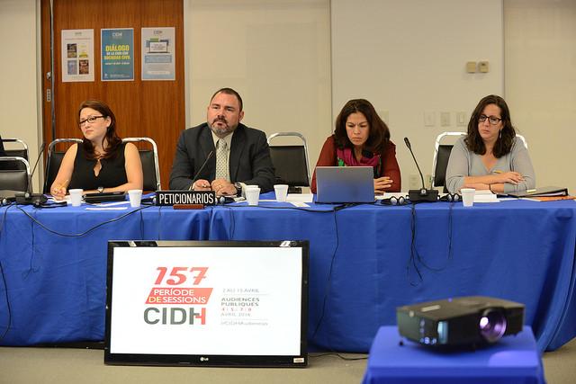 """Audiencia temática: """"Situación de los Derechos Humanos Laborales de población migrante e indígena en Costa Rica"""""""