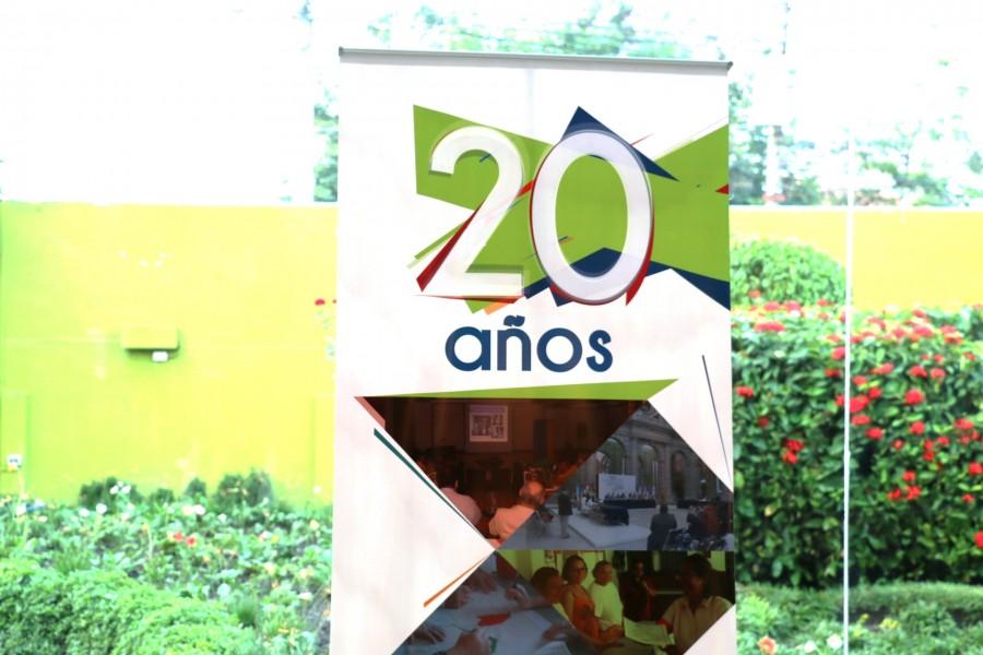 Inicio de celebración de 20 años de aniversario del GMIES