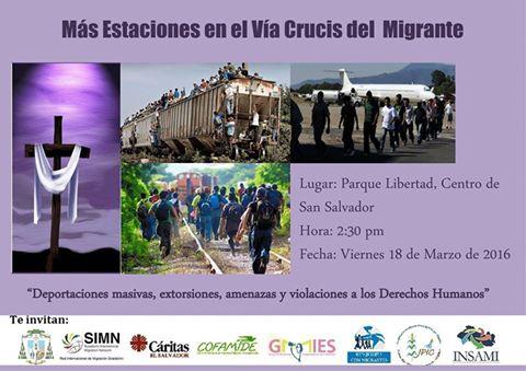 Vía crucis del migrante 2016