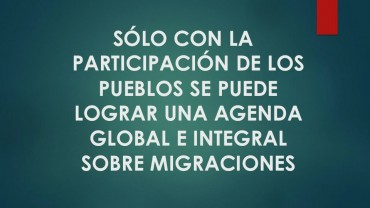 Mensajes compartidos desde la Alianza de Organizaciones para la Efectividad del Desarrollo (AOED).