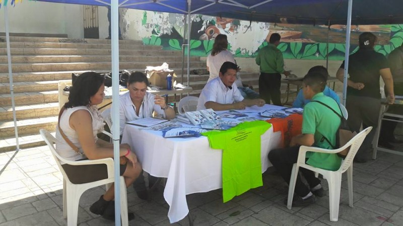 Festival del migrante en el Municipio de Santa Rosa de Lima, La Unión