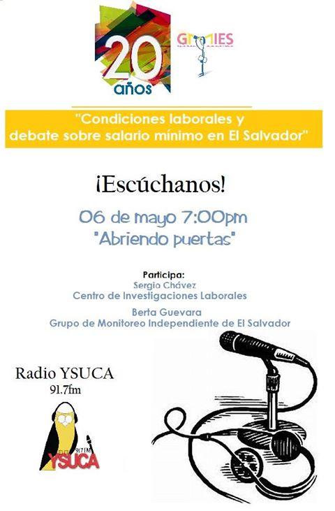 27. Programa de radio ysuca