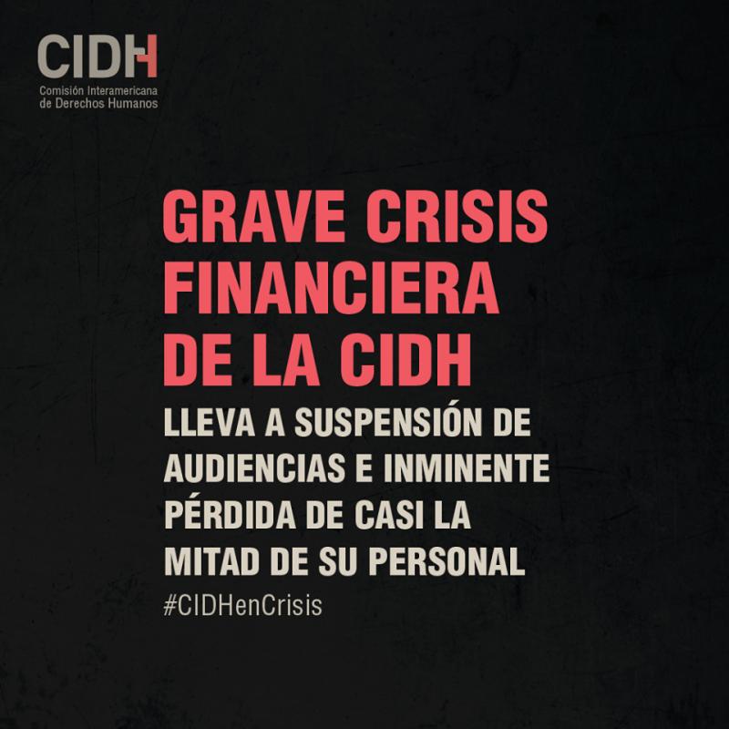 Crisis en el SIDH