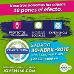 Invitación de Voluntariados, Pasantías y horas sociales.1